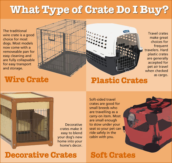 what kind of crate do I need?