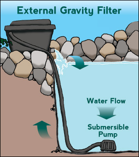 Pond water garden installlation maintenance guide for Pond filter setup diagram