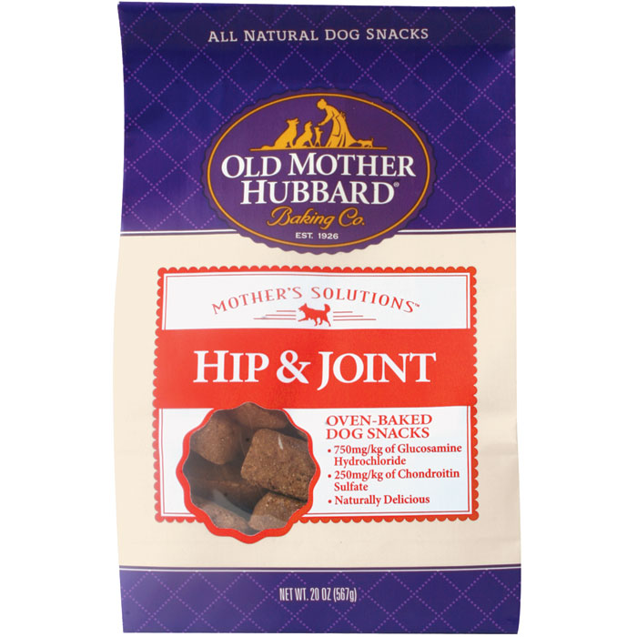 Mothers Solutions Hip And Joint Dog Snacks 20 Oz.