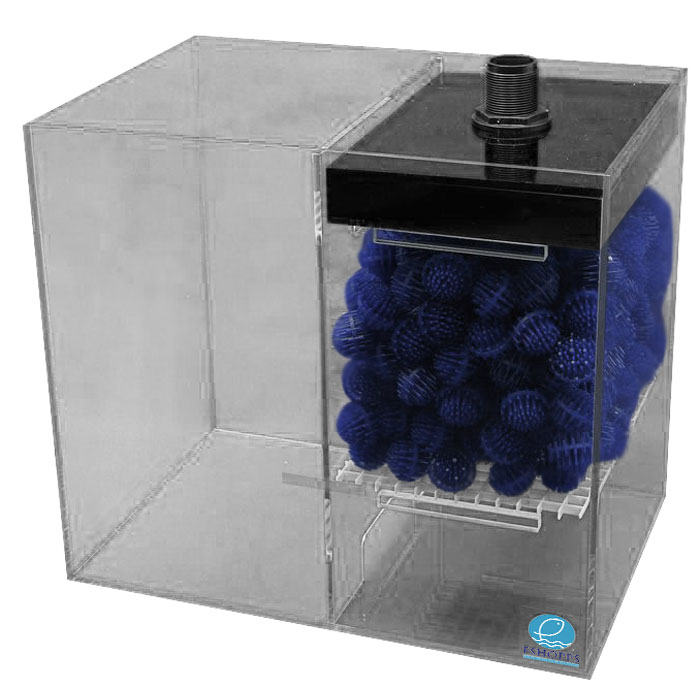 Eshopps Wd 75cs Wet Dry Filter 10 To 75 Gal.
