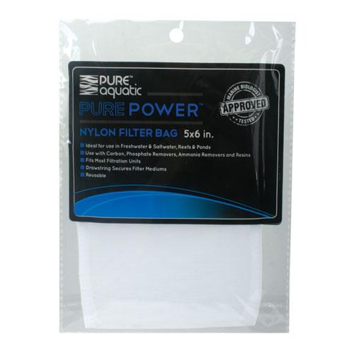 Pure Power Nylon Mesh Filter Media Bag 4.25 In. X 6 In.