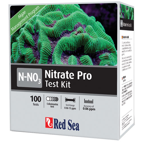 Reef Care Nitrate Pro High Def. Pro Test Kit 100 Tests