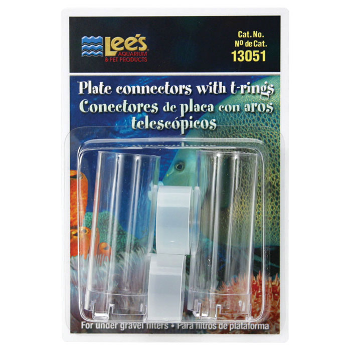 Plate Connector With T Ring 2 Pk.