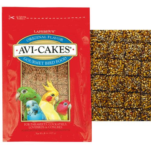 Avi Cakes For Parakeets Cockatiels Conures 8 Oz