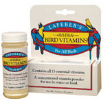 Bird Vitamins Powdered 1.25 Oz. Bottle