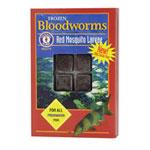 Bloodworms Cubes 7 Oz. Frozen