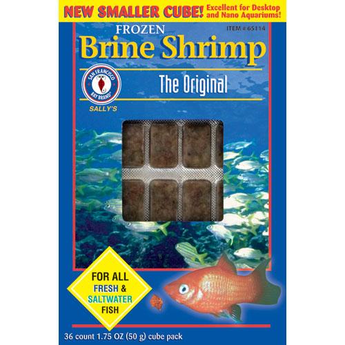 Brine Shrimp Mini Cubes 1.75 Oz. Frozen