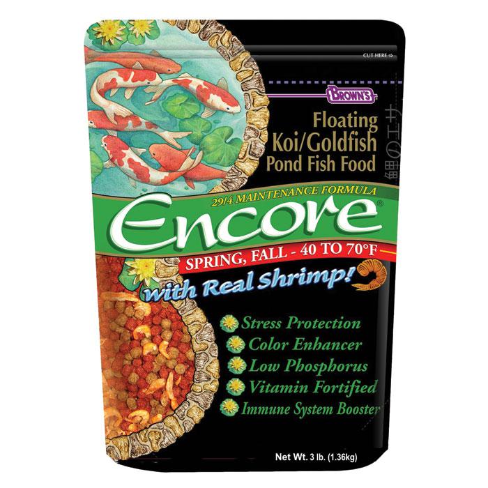 Encore Koi Spring Fall Pond Food 48 Oz.