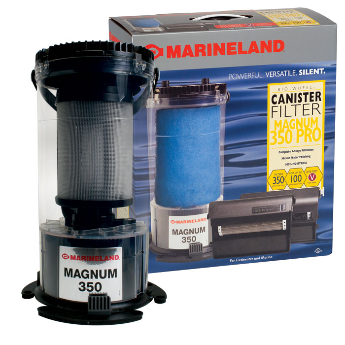 Magnum 350 Pro System Canister Filter Up To 100 Gal