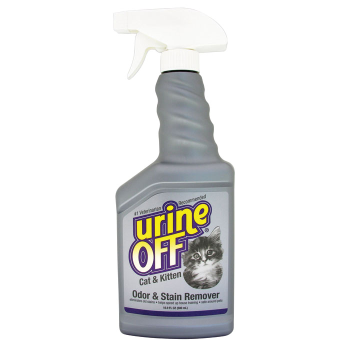 Urine Off Stain And Odor Remover For Cats Kittens Liter