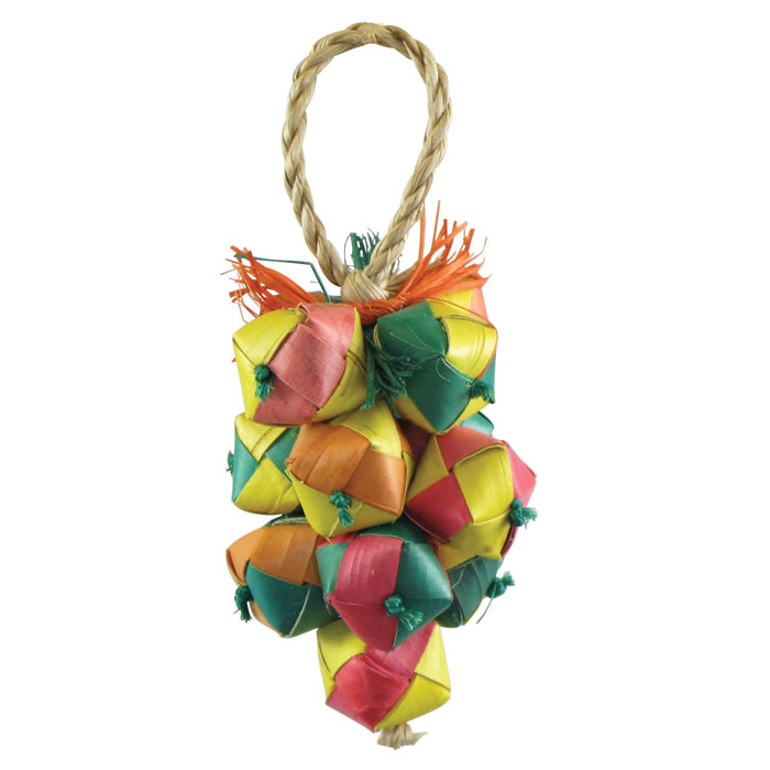 Cluster Square Balls Bird Toy