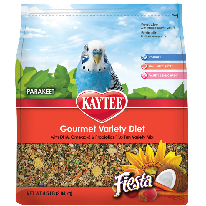 Fiesta Max Food For Parakeets 4.5 Lb