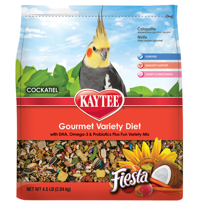 Fiesta Food For Cockatiels 4.5 Lb.