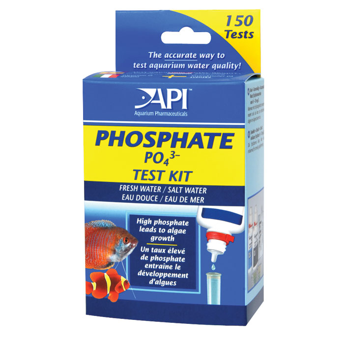 lamotte phosphate test kit instructions