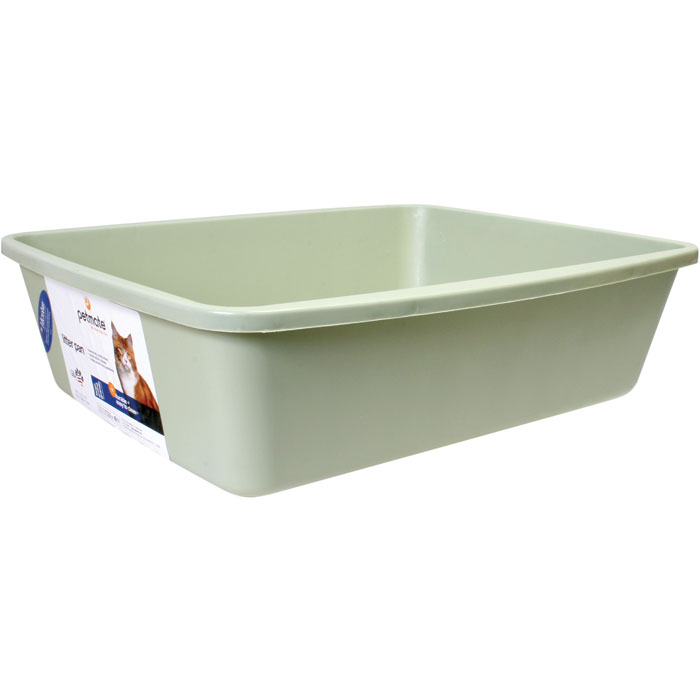 Litter Pan Assorted Colors Jumbo 22.25 In. X 16.75 In. X 6.75 In.