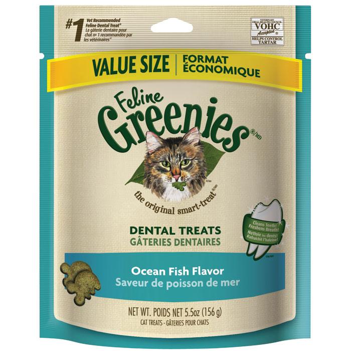 Feline Greenies Ocean Fish 5.5 Oz.
