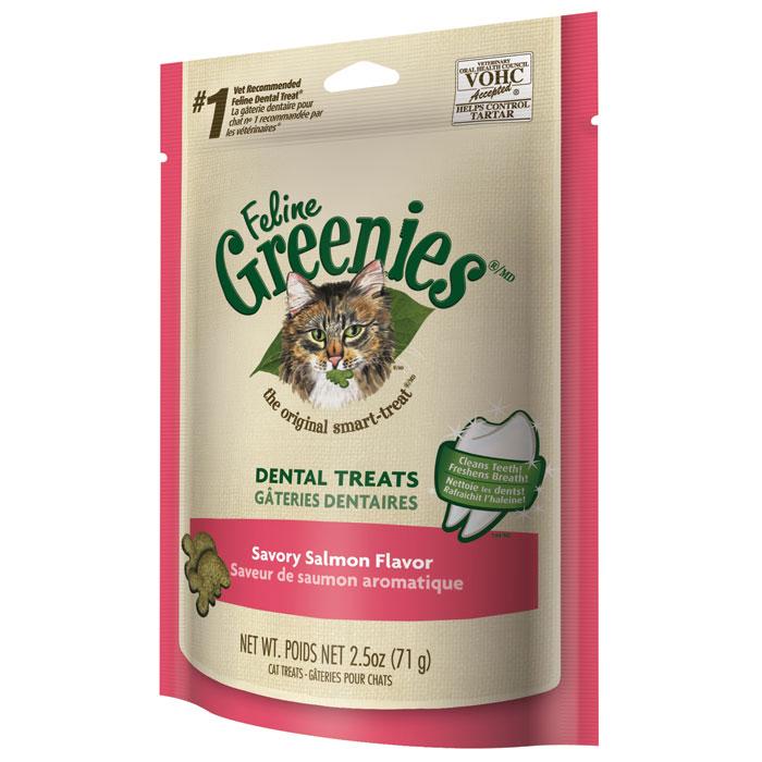 Feline Greenies Savory Salmon 2.5 Oz.