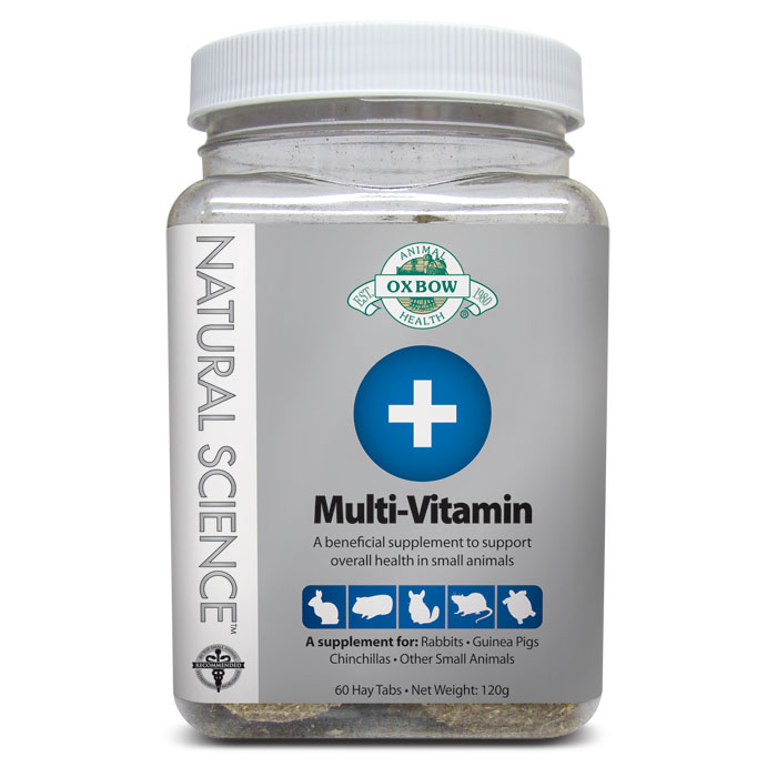Oxbow Natural Science Multi Vitamin Supplement 60 Ct.