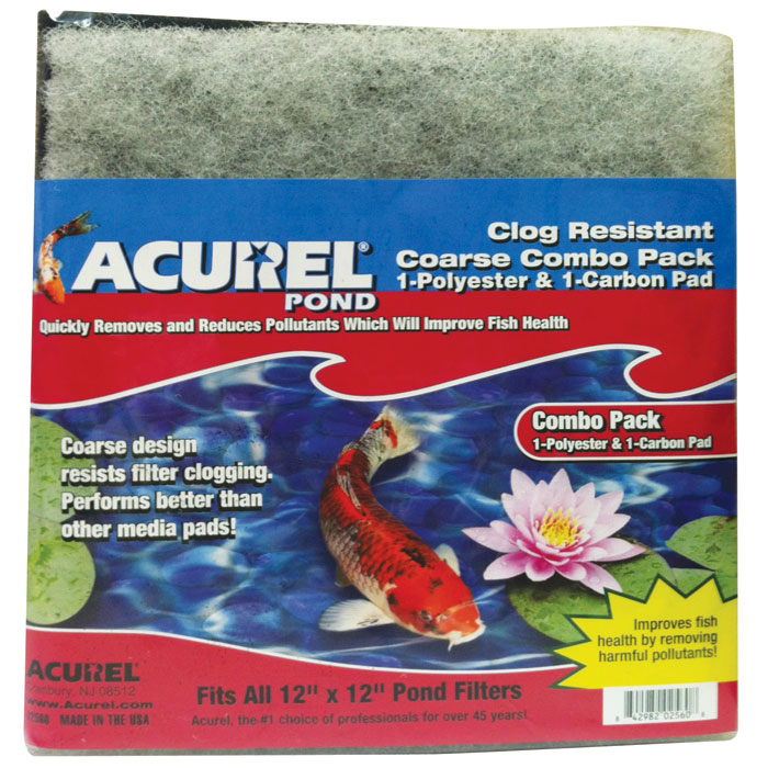 Acurel Clog Resistant Combo Pack Poly/carb Coarse