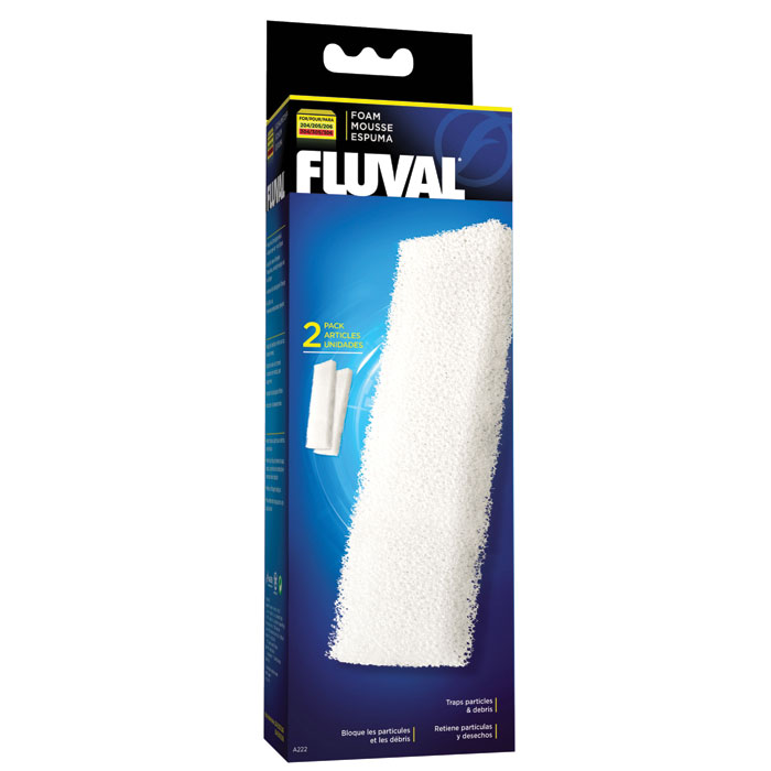 Foam Block For Fluval 204 304 205 305 206 306 2 Pk.