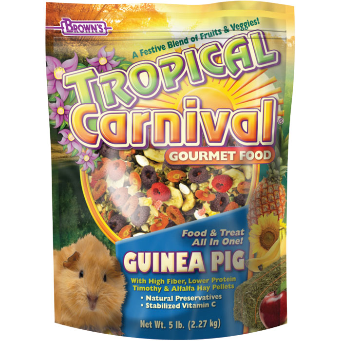 Tropical Carnival Guinea Pig Food 5 Lb.