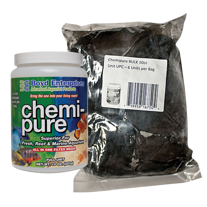 Chemi Pure Aquarium Filter Media 10 Oz. 6 Pk.