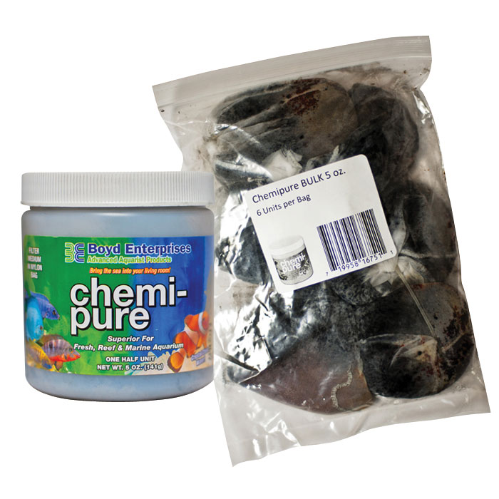 Chemi Pure Aquarium Filter Media 5 Oz. 6 Pk.