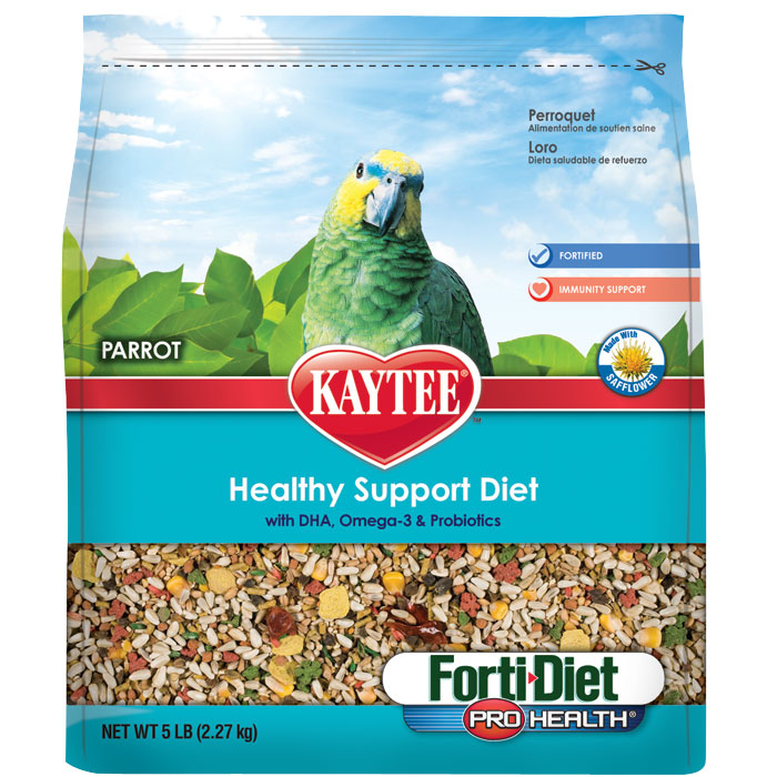 Forti Diet Pro Health Parrot With Safflower 5 Lb.