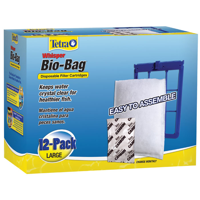 Whisper Bio Bag Cartridge Large 12 Pk. Unassembled