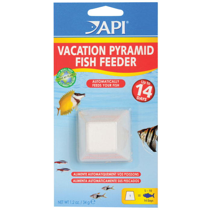 Api 14 Day Pyramid Fish Feeder
