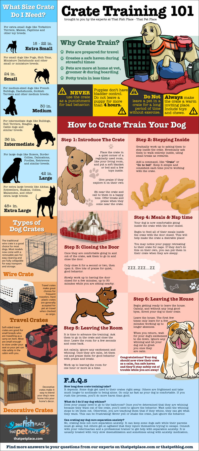 3 easy steps for crate training