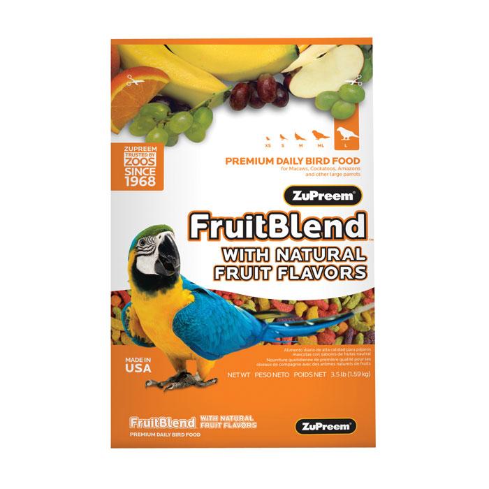 Fruit Blend Diet For Large Parrots 3.5 Lb.
