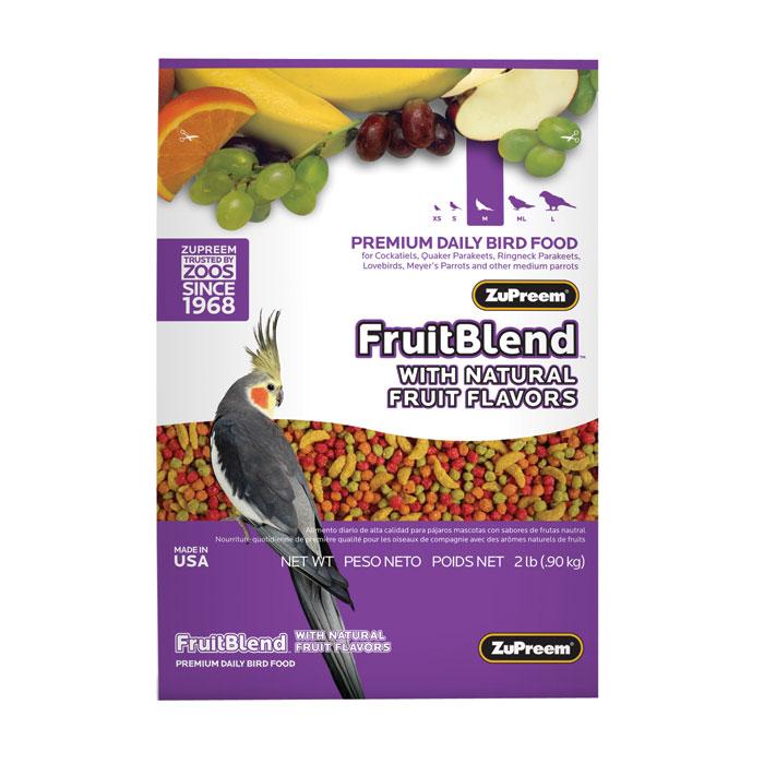 Fruit Blend Diet For Medium Parrots 2 Lb.