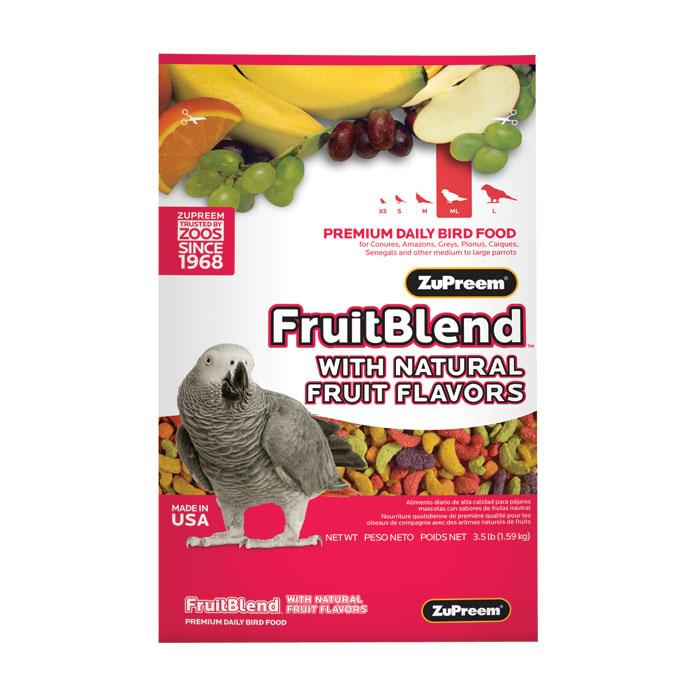 Fruit Blend Diet For Medium To Large Parrots 3.5 Lb.