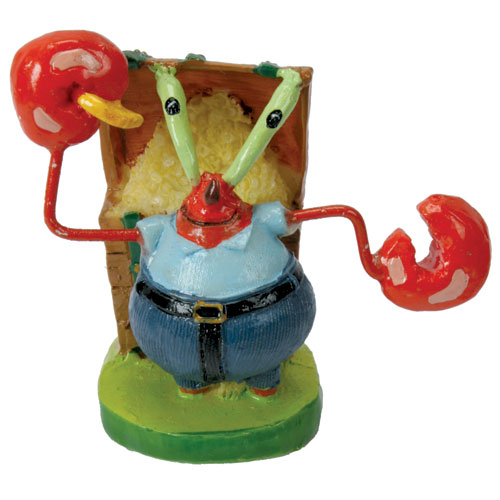 Mr. Krabs Sponge Bob Aquarium Ornament 1.75 In.