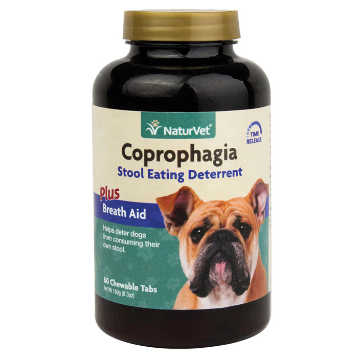 Naturvet Coprophagia Deterrent Tablets For Dogs 60 Ct.